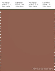 PANTONE SMART 18-1235X Color Swatch Card, Russet