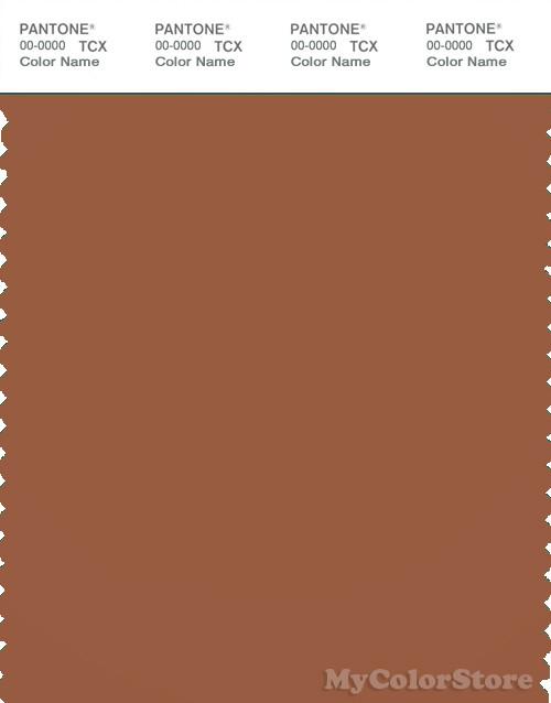 PANTONE SMART 18-1239X Color Swatch Card, Sierra