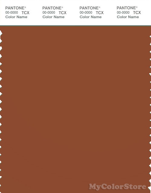 PANTONE SMART 18-1244X Color Swatch Card, Ginger Bread