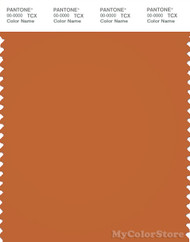 PANTONE SMART 18-1249X Color Swatch Card, Hawaiian Sunset