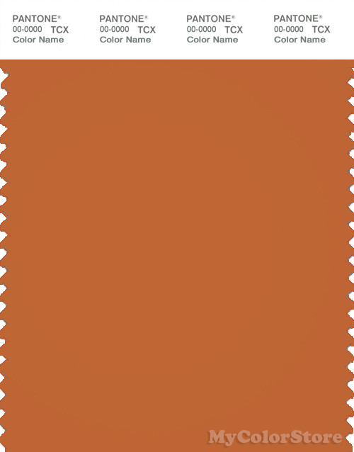 PANTONE SMART 18-1249X Color Swatch Card, Hawaiian Sunset