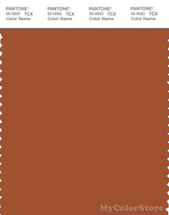 PANTONE SMART 18-1250X Color Swatch Card, Bombay Brown