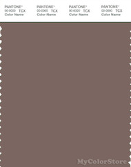 PANTONE SMART 18-1312X Color Swatch Card, Deep Taupe