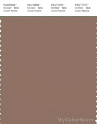PANTONE SMART 18-1321X Color Swatch Card, Brownie