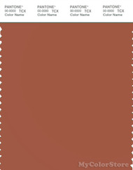 PANTONE SMART 18-1343X Color Swatch Card, Auburn