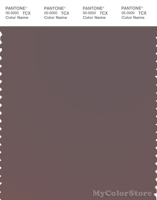 PANTONE SMART 18-1404X Color Swatch Card, Sparrow