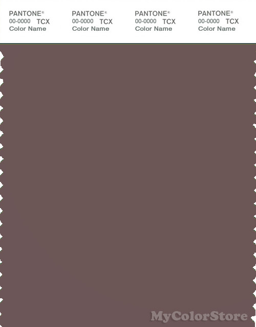 PANTONE SMART 18-1409X Color Swatch Card, Peppercorn