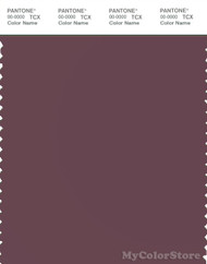 PANTONE SMART 18-1411X Color Swatch Card, Plum Wine