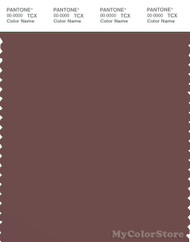 PANTONE SMART 18-1415X Color Swatch Card, Marron