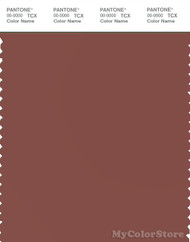 PANTONE SMART 18-1425X Color Swatch Card, Mahogany