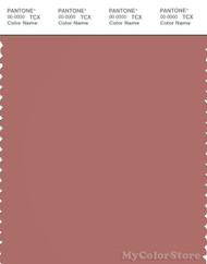 PANTONE SMART 18-1436X Color Swatch Card, Light Mahogany