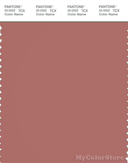 PANTONE SMART 18-1436X Color Swatch Card, Light Mahogany