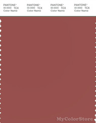 PANTONE SMART 18-1438X Color Swatch Card, Marsala