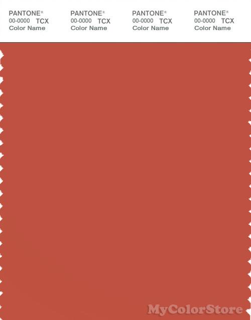 PANTONE SMART 18-1448X Color Swatch Card, Chili