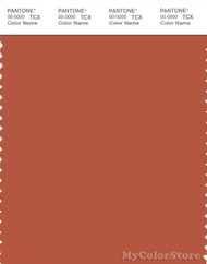 PANTONE SMART 18-1451X Color Swatch Card, Autumn Glaze