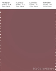 PANTONE SMART 18-1512X Color Swatch Card, Rose Brown
