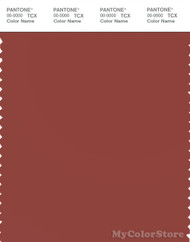 PANTONE SMART 18-1531X Color Swatch Card, Barn Red