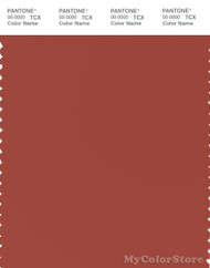 PANTONE SMART 18-1540X Color Swatch Card, Cinnabar