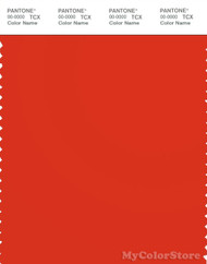 PANTONE SMART 18-1561X Color Swatch Card, Orange.com