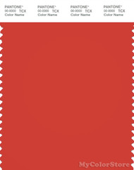 PANTONE SMART 18-1564X Color Swatch Card, Poinciana