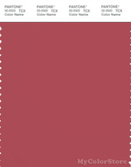 PANTONE SMART 18-1633X Color Swatch Card, Garnet Rose