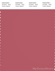 PANTONE SMART 18-1634X Color Swatch Card, Baroque Rose