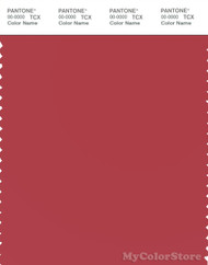 PANTONE SMART 18-1643X Color Swatch Card, Cardinal