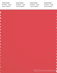 PANTONE SMART 18-1651X Color Swatch Card, Cayenne