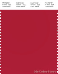 PANTONE SMART 18-1657X Color Swatch Card, Salsa