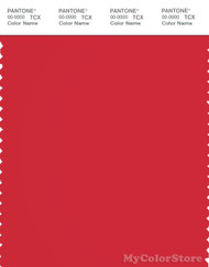 PANTONE SMART 18-1660X Color Swatch Card, Tomato