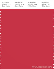 PANTONE SMART 18-1661X Color Swatch Card, Tomato Puree
