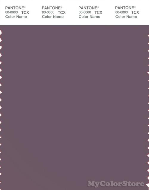 PANTONE SMART 18-1706X Color Swatch Card, Black Plum