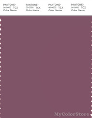 PANTONE SMART 18-1709X Color Swatch Card, Tulipwood