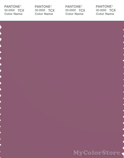PANTONE SMART 18-1710X Color Swatch Card, Grape Nectar