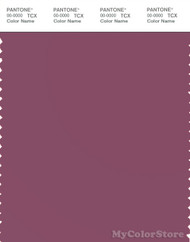 PANTONE SMART 18-1716X Color Swatch Card, Damson
