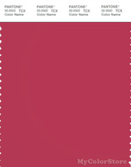 PANTONE SMART 18-1741X Color Swatch Card, Raspberry Wine