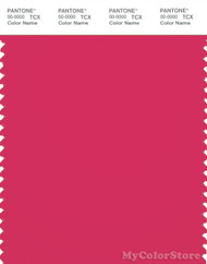 PANTONE SMART 18-1754X Color Swatch Card, Raspberry