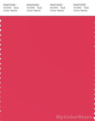 PANTONE SMART 18-1756X Color Swatch Card, Teaberry