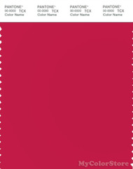 PANTONE SMART 18-1760X Color Swatch Card, Barberry