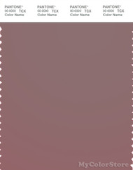 PANTONE SMART 18-1807X Color Swatch Card, Twilight Mauve