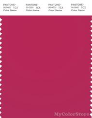 PANTONE SMART 18-1950X Color Swatch Card, Jazzy
