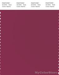 PANTONE SMART 18-2027X Color Swatch Card, Beaujolais
