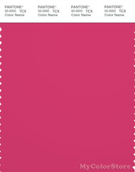 PANTONE SMART 18-2043X Color Swatch Card, Raspberry Sorbet