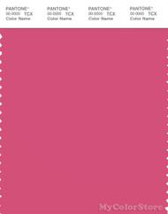 PANTONE SMART 18-2133X Color Swatch Card, Pink Flambe