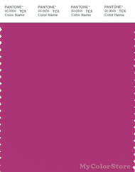 PANTONE SMART 18-2328X Color Swatch Card, Fuchsia Red