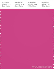 PANTONE SMART 18-2333X Color Swatch Card, Raspberry Rose