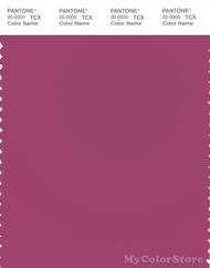 PANTONE SMART 18-2525X Color Swatch Card, Magenta Haze