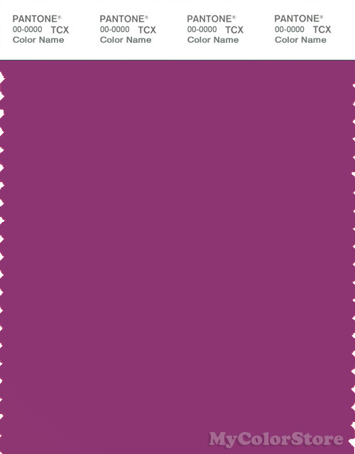 PANTONE SMART 18-2929X Color Swatch Card, Purple Wine