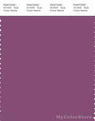 PANTONE SMART 18-3015X Color Swatch Card, Amethyst