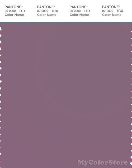 PANTONE SMART 18-3211X Color Swatch Card, Grapeade